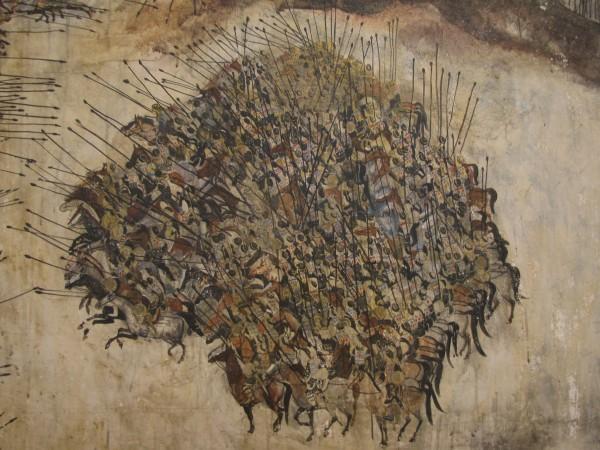 "foto:""Samasi aragveli"" de Merab Abramishvili, fragment"