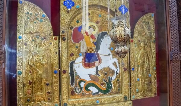 Sf. Mare Mucenic Gheorghe, Catedrala Bagrati, Kutaisi, Georgia (foto: pr. D. Bahrim)