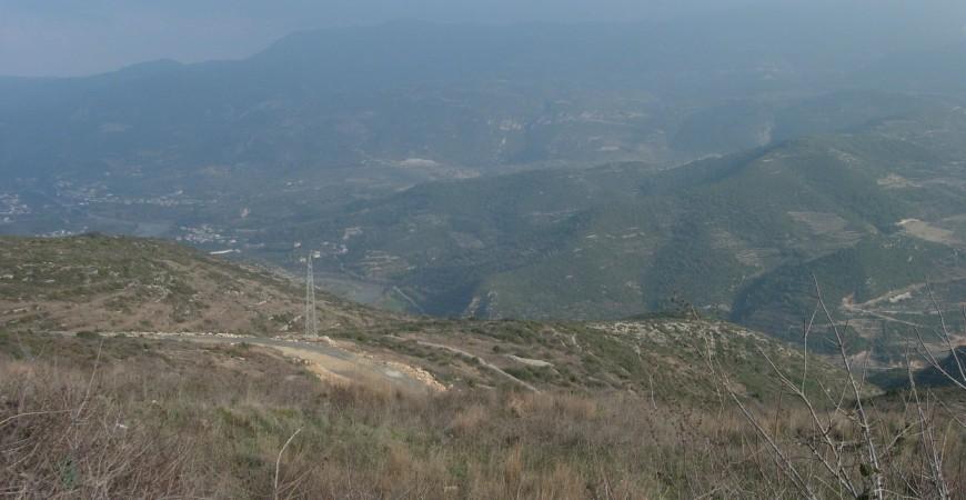 Panoramă de pe Muntele Minunat