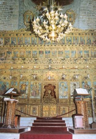 Iconostasul Bisericii Sf. Lazăr din Larnaka