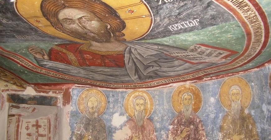 Pantokrator - peștera Sf. Neofit