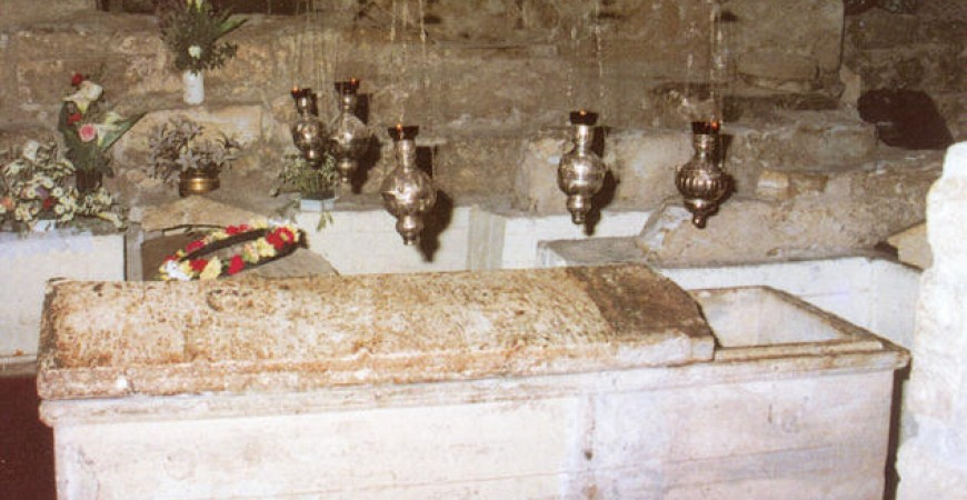 Vechiul mormânt al sf. Lazăr în Larnaka