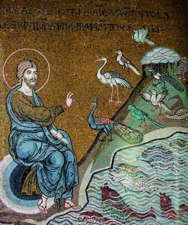Crearea viețuitoarelor din ape și de pe uscat (Facere 1, 20-25)