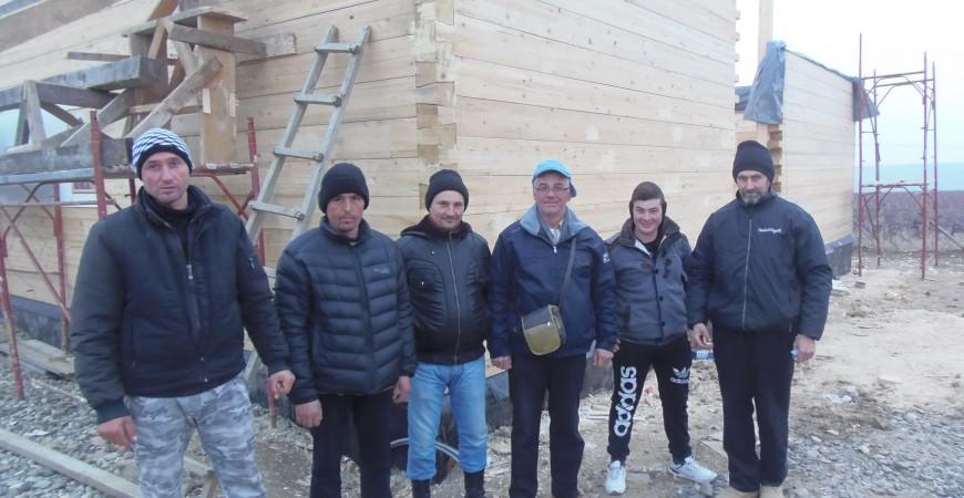 Echipa: Cezar, Vitalie, Constantin, ing. Iulian, Valentin, Ioan