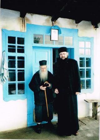 Cu bătrânul Dionisie la Colciu, martie 2003
