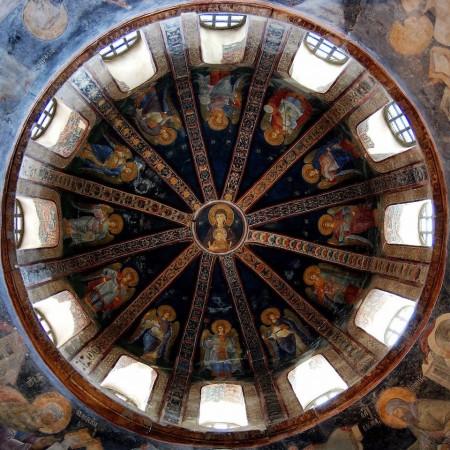 Paraclisul Mănăstirii Chora, Constantinopol, sec. XIV