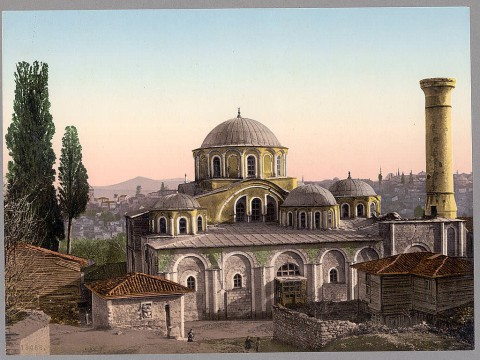 Mănăstirea Chora din Constantinopol (sec. XIV), un exemplu al măiestriei creatoare ortodoxe, în spiritul tradiţiei.