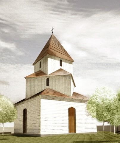Macheta noii Biserici