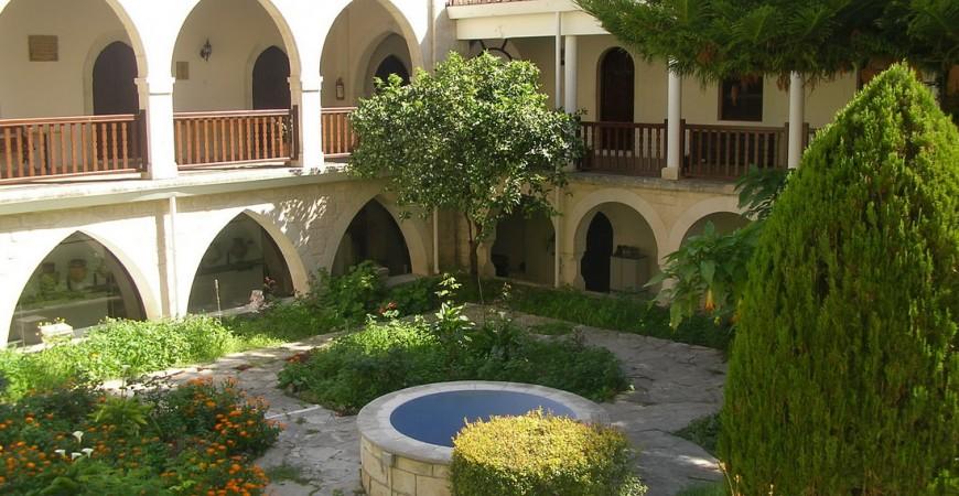 Actuala Mănăstire a Sfântului Neofit din Pafos