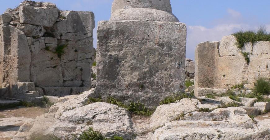 Fragment din Stâlpul Sfântului Simeon din Muntele Minunat