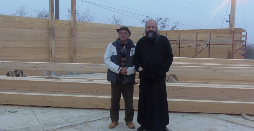 Cu ing. Iulian Năstase, coordonatorul tehnic al înălțării bisericii