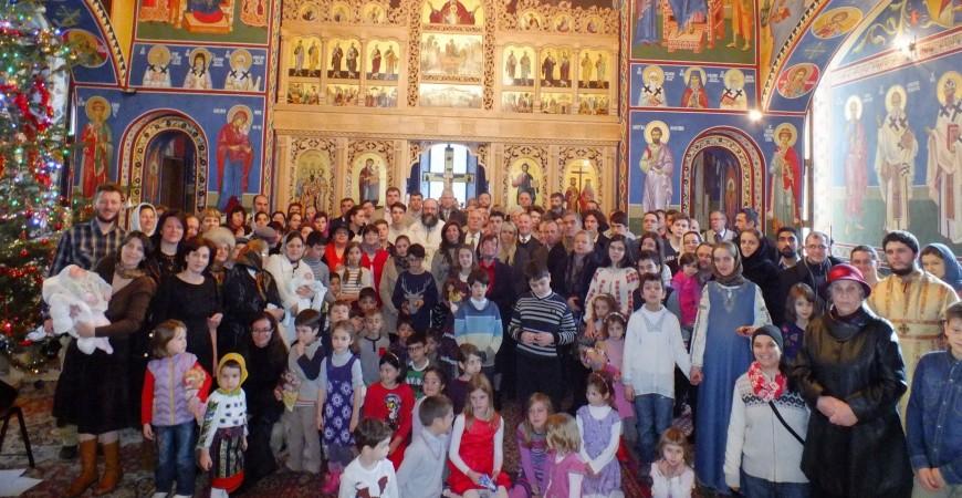 După sfânta liturghie