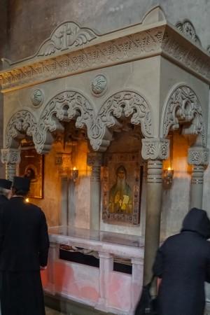 Moaștele Sf. Gavriil Georgianul;  foto: pr. D. Bahrim